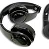 iFlash Light-Up & Solar Powered Foldable Wireless Bluetooth Headphones