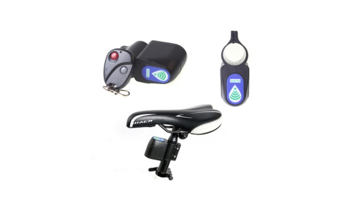 Bicycle Security Lock Vibration Alarm Anti-theft Wireless Control