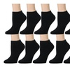 Kids Low Cut Socks Cotton No Show Ankle Socks 12 Pairs)