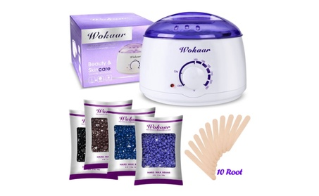 Rapid Melt Hair Removal Waxing Kit Electric Hot Wax Warmer, 4 flavors 03dcaf13-fcfa-4af1-a284-971bbe76b89b