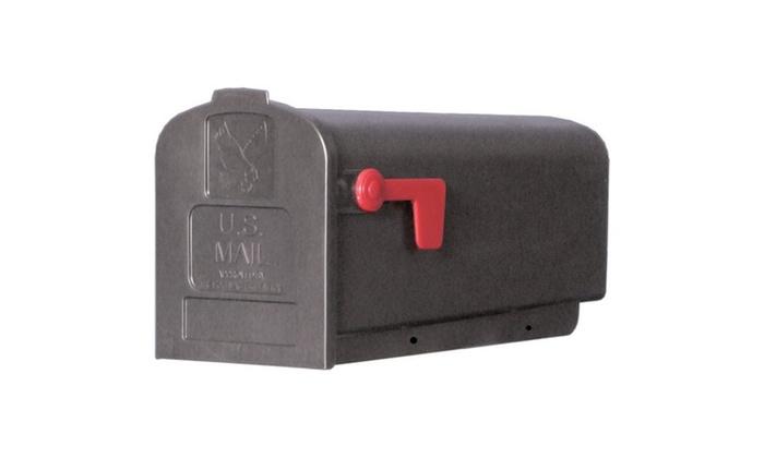 Mailbox Rural Blk Nbr1