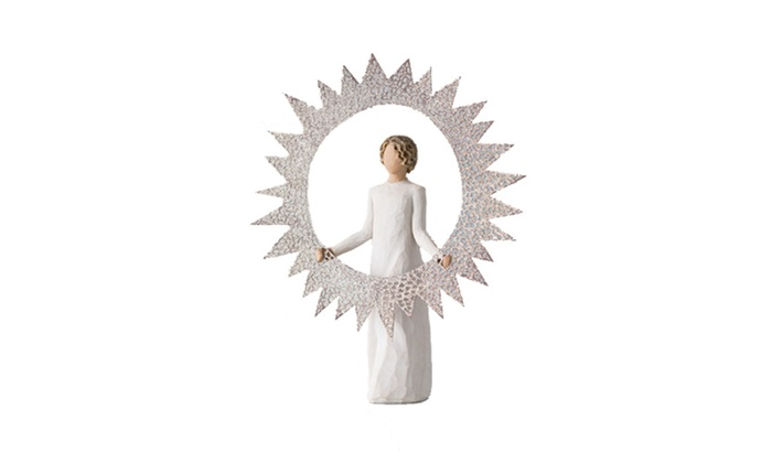 Starlight Christmas Tree Topper By Willow Tree Groupon