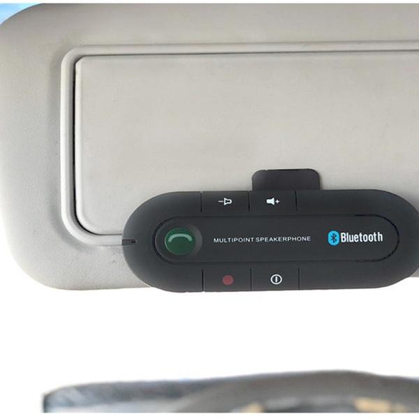 Car Visor Bluetooth Speaker Phone Kit Groupon