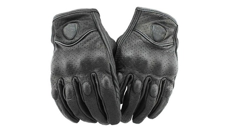 Women's and Men's PU Leather Outdoor Motorcycle Fashionable Gloves 477b95d9-21d0-4293-9935-3baa534c9526