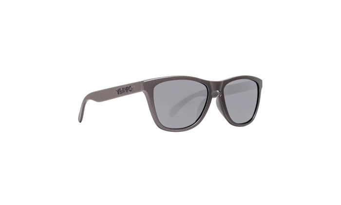 9c95348e6b1d0 Oakley Frogskins OO9245-35 Metals Col Lead Gray Black Iridium Square  Sunglasses