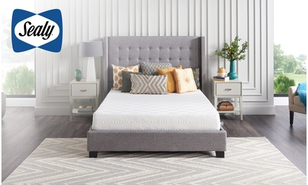 Sealy 8-Inch Memory Foam Bed in a Box, Medium