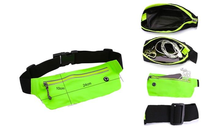 Sports Fanny Belly Waist Bum Pack Bag Fitness Running Jogging Cycling Belt PW