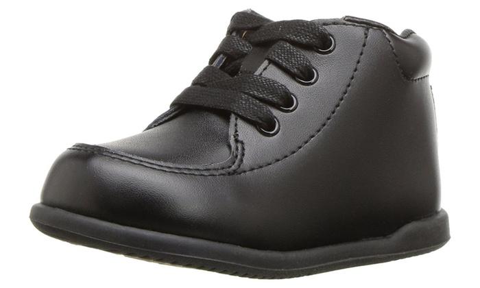 3f0fefb9aaa6 Smart Step ST2136 Unisex Leather Infant Walking Shoes