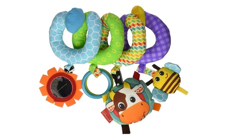 Infantino Spiral Activity Toy, Blue 27763c6e-111f-4c6f-8f57-1be7171483fd