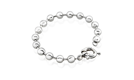 Ball Chain Bead Stainless Steel Bracelet 1074503d-b821-4275-9228-df11aa372103
