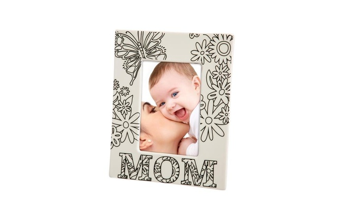 Mom and Grandma Just Add Color Picture Frames   Groupon