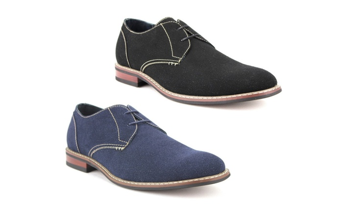 Men's Shoe Suedette Sole Stiched Oxfords-139002