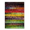 Michelle Calkins 'Brocade and Fifteen Stripes 3' Canvas Art