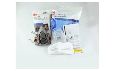 Double Gas Mask Protection Filter Chemical Respirator Safety Mask e1748182-9816-454c-b0fc-f5cb22a3e880