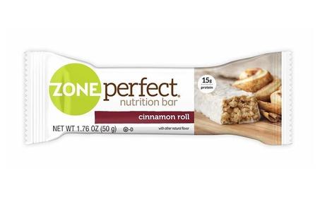 Nutrition Snack Bars, High Protein Energy Bars, Cinnamon Roll, 1.76 oz