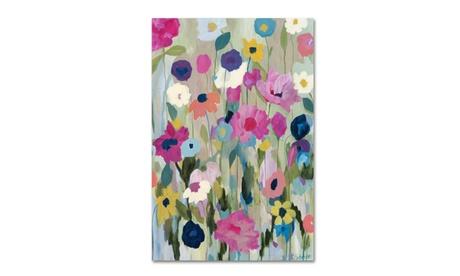 Carrie Schmitt 'Too Pretty To Pick' Canvas Art a229a0fc-5e75-4386-95df-ace43212274a
