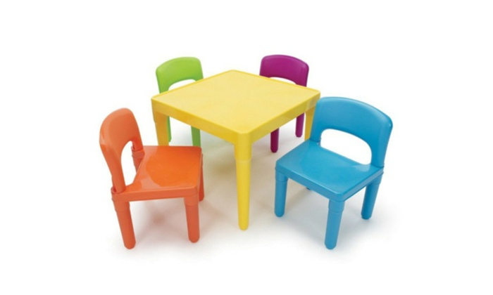 Etonnant Kids Table And Chairs Play Set Toddler Child Toy Activity Furniture