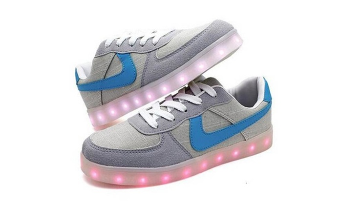 Misslin: LED Shoes USB Charging Light Up Fashion Men Women Sneakers