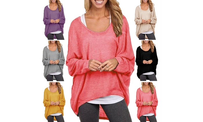 7d32accb6 Up To 67% Off on Womens Long Sleeve Pullover S...