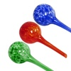 Evelots 3 Mini Decorative Glass Watering Globes Automatic Plant Tools