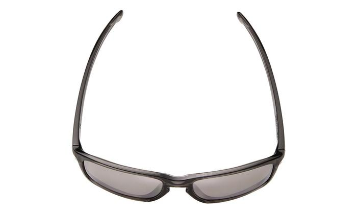ffb29868bc5 Oakley Sunglasses Grey Smoke Frame Chrome Iridium Lens