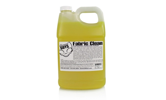 Chemical Guys CWS 103 Fabric Clean Carpet and Upholstery Shampoo (1 Gal)