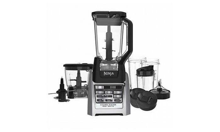 New Ninja Kitchen System with Auto-iQ Total Boost | Groupon