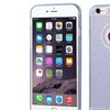 Insten Gel Glitter Cover Case For Apple iPhone 6 Plus 6s Plus Blue