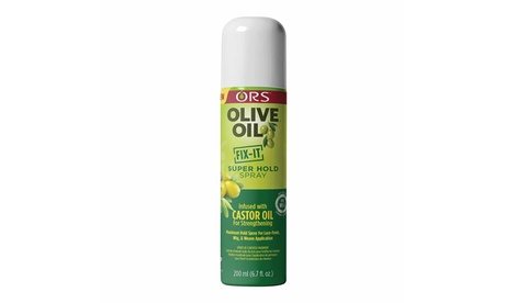 ORS Olive Oil Fix-it Super Hold Spray for Lace Front Wig Weave Hair 6.2 fl. oz