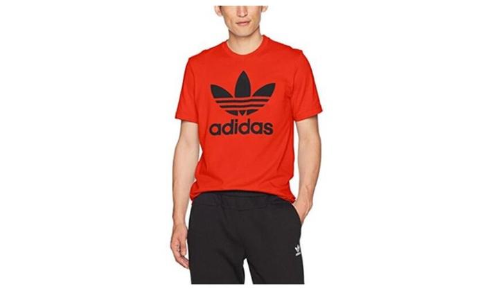 ab595117 Originals Men's Graphic Trefoil Tee Red | Groupon