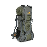 Groupon.com deals on 60L Unisex Free Knight Outdoor Waterproof Hiking Camping Backpack
