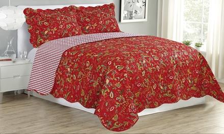 Glory Home Designs Assorted Premium Quilt Set (3-Piece)