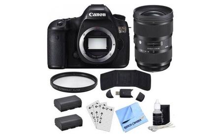 Canon EOS 5DS Digital SLR Camera (Body only) w/ Lens Power Bundle 6cf86801-7097-44ab-8391-4d19d56159f7