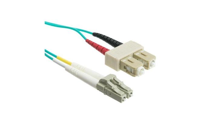 10 Gigabit Fiber Optic Lc / Sc Multimode Duplex 50/125 20 M 65′