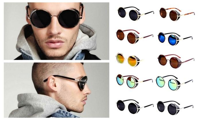 Vintage Unisex 50s Round Sunglasses