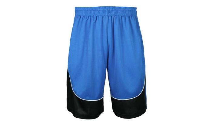 35c58f7f81f066 Big and Tall Men s Mesh Basketball Short