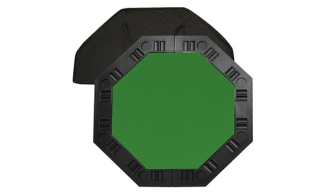 8 Player Octagonal Table top - Green - 48 inch 207fa446-1b0a-4e6a-9131-8b70a1b61596