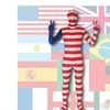 SecondSkin Full Body Spandex/Lycra Suit - World Flag Design