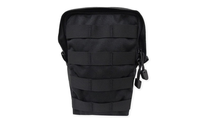 Large General Purpose Pouch Upright Black