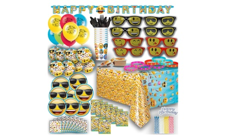 Ultimate Emoji Birthday Party FOR 8 NEW 3fd08176-c3a9-492c-be1c-7facc0c71027