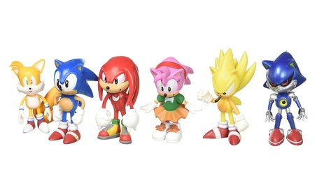 Sonic the Hedgehog Action Figure (6pcs-Set) b7db3813-6aba-4e4e-a39e-4d873b257921