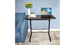 Adjustable-Height Rolling Sofa Bed Tray Laptop Table Computer Desk 2 Color