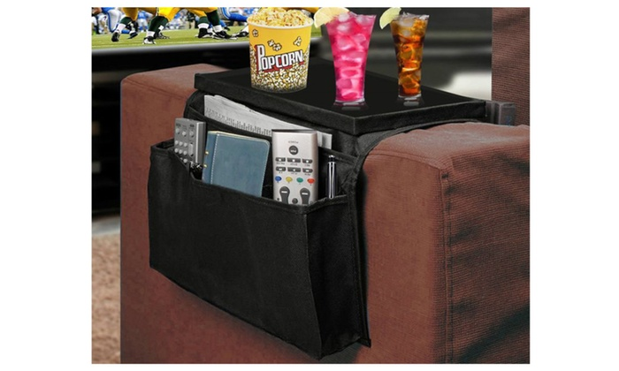 Tv Remote Control Holder With Clamp D Over Sofa Armrest Organizer