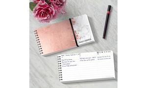 Open-Dated Daily Agenda Planner