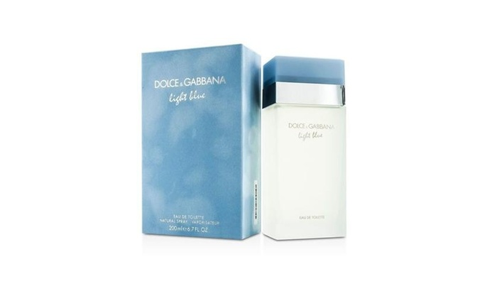 97ee7a31 Dolce & Gabbana Light Blue Eau De Toilette 6.7 oz / 200 ml For Women ...