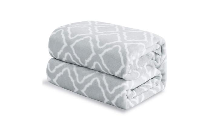 Bedsure Down Alternative Comforter Queen//Full Size Dark Grey Light Grey Rever...