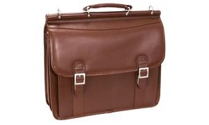 McKlein Halsted Men's Leather Briefcase