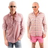 Elie Milano Italy Pattern Men's Dress / Casual Shirts 3