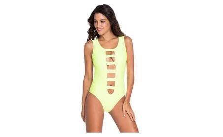 Women Cool Summer Mansion Neon One-piece Swimsuit Prime d89d7a0f-e1e9-4f35-a879-988e59acfa98