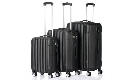 3pcs Multifunctional Luggage Large Capacity Traveling Storage Suitcase Was: $98.00 Now: $69.99